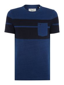 Original Penguin Twin Stripe Crew Neck T-shirt