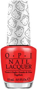 OPI Hello Kitty `5 Apples Tall` Nail Lacquer