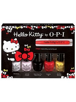 OPI Hello Kitty Friend Mini 5 Pack