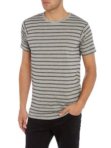 Lindbergh Short sleeve striped tee