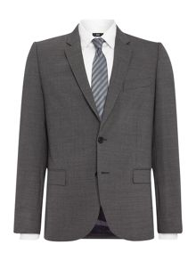 PS By Paul Smith Notch Micro Houndstooth Suit Jacket