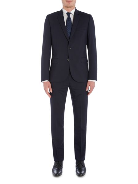 PS By Paul Smith Micro Houndstooth Suit Trousers