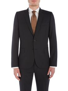 PS By Paul Smith Notch Micro Check Suit Jacket