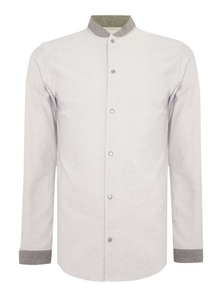 Jack & Jones Bomber Neck Long Sleeve Shirt