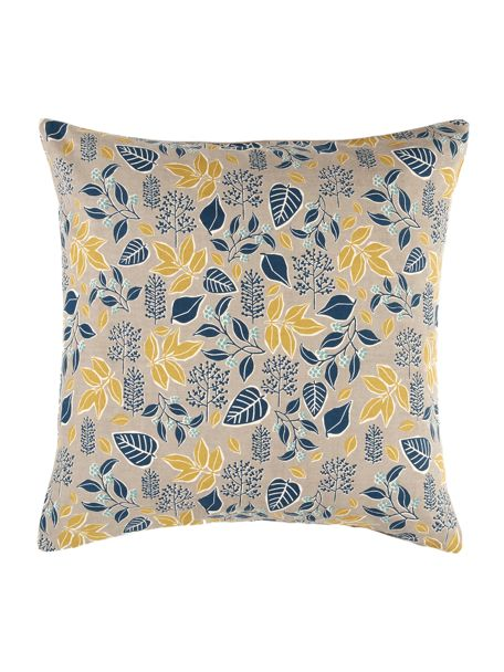 Dickins & Jones Maple Leaf Cushion