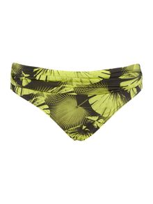 Biba Palm Goddess Fold Over Brief