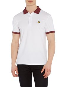 Lyle and Scott Short Sleeve Space Dye Collar Polo Shirt