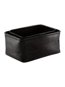 Biba Stud set of two storage black