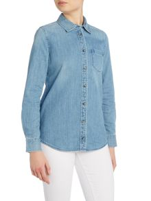 AG Jeans The Easton denim shirt in blue light