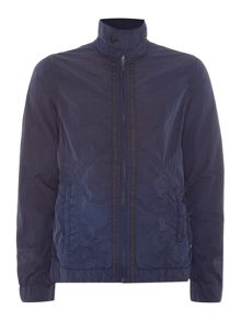Scotch & Soda Garment dyed nylon jacket.