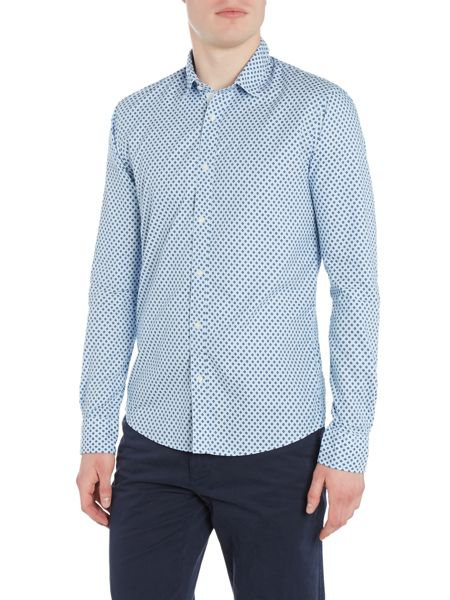 Scotch & Soda Classic shirt in cotton and twill weave.