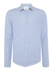 Scotch & Soda Crispy poplin shirt with print