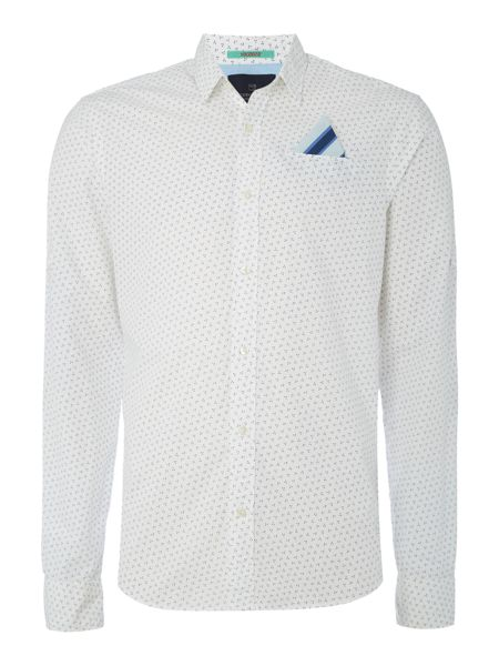 Scotch & Soda Longsleeve shirt with fixed pochet