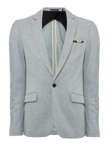 Scotch & Soda Chic jersey blazer with fixed pochet.