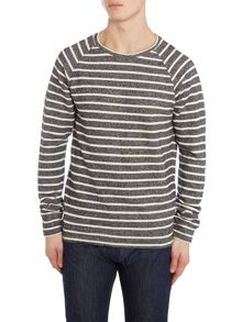 Scotch & Soda Basic melange crewneck sweat.