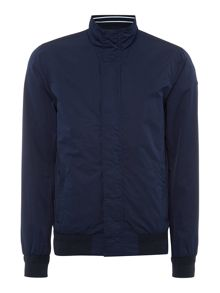 Scotch & Soda Basic nylon bomber jacket.