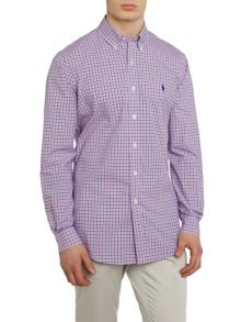 Polo Ralph Lauren Polin gingham custom fit long sleeve shirt