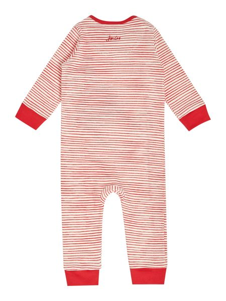 Joules Boys Striped All in one with Monkey