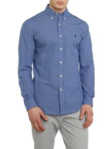 Polo Ralph Lauren Multi gingham slim fit long sleeve sports shirt