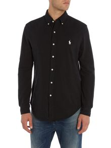 Polo Ralph Lauren Cotton-Mesh Button-Down Shirt