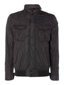 Schott NYC Funnel neck nylon field jacket