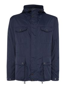 Barbour Lightweight Jacket with adjustable peaked hood