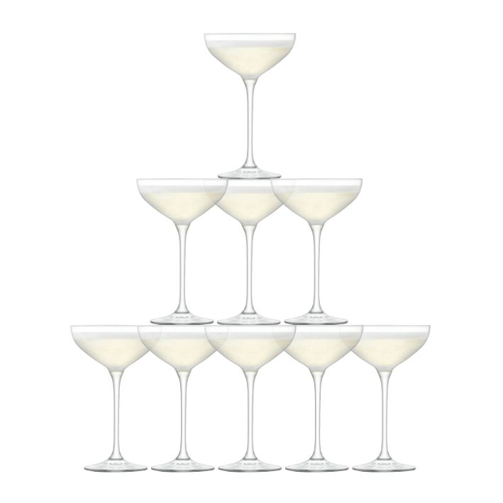 LSA LSA Tower Champagne Set Clear x 10