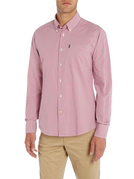Barbour Gingham Shirt in Tailored Fit