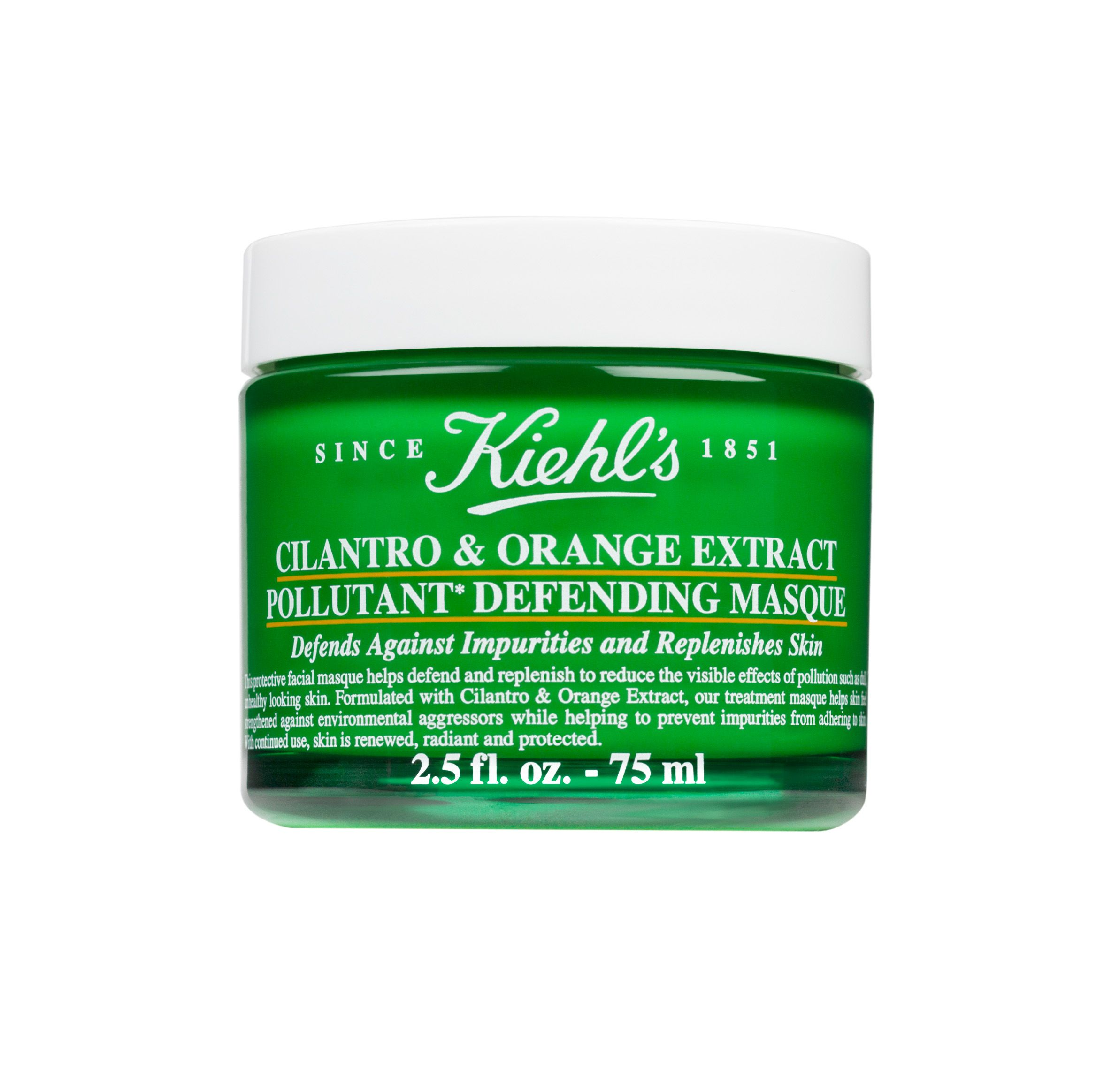 Kiehls Cilantro & Orange Pollutant Defending Masque