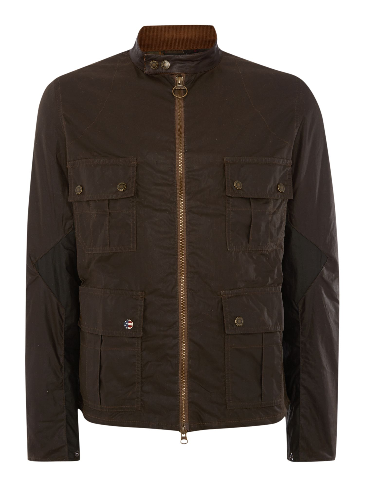Mens Barbour Barbour Internation Chico Wax Jacket Olive