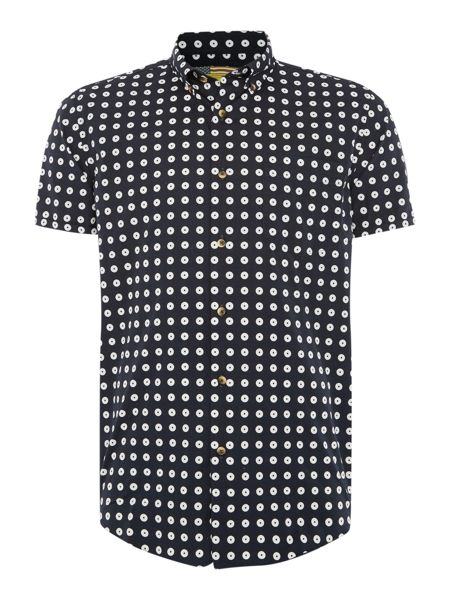 Barbour Short Sleeve Dotted Shirt