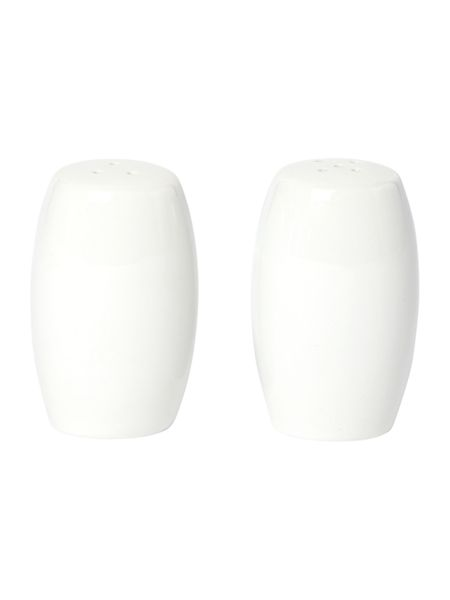 Linea Luna porcelain salt and pepper shaker set