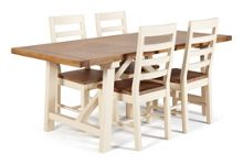 Dickins & Jones Axis Dining Table and 4 Chairs