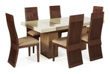 Grenoble 1.2m Dining Table and 6 Chairs