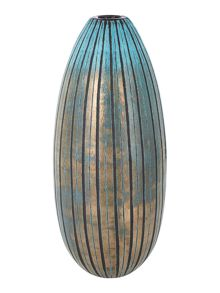 Living by Christiane Lemieux Opal bullet glass vase