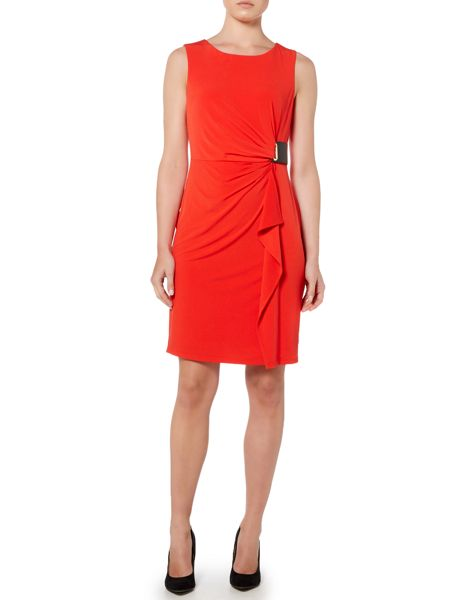 Episode Wrap dress with buckle