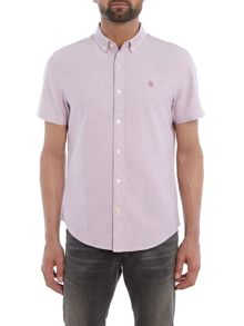 Original Penguin Straight Oxford Short Sleeve Shirt