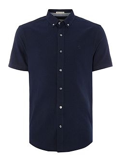 Straight Oxford Short Sleeve Shirt