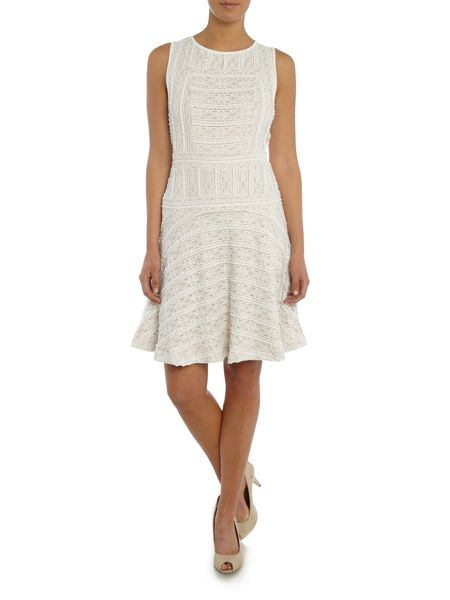 Vince Camuto Sleeveless Lace Flare Dress
