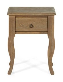 Gray & Willow La Chambre 1 Drawer Bedside table