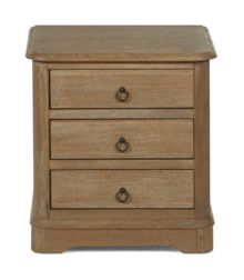 Gray & Willow La Chambre 3 Drawer Bedside table