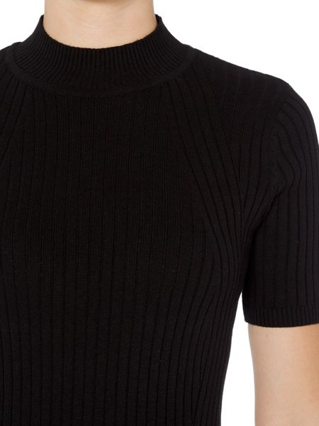 Therapy Isabel Short Sleeve Rib Detail Jumper