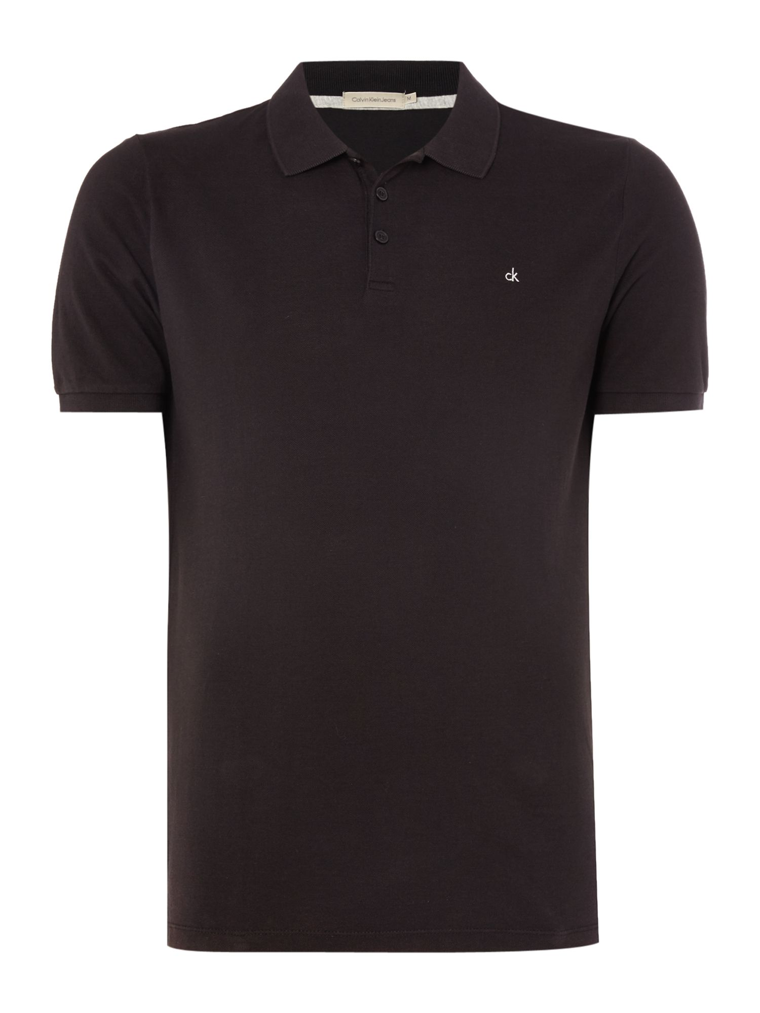 Men's Calvin Klein Paul Polo Shirt, Black