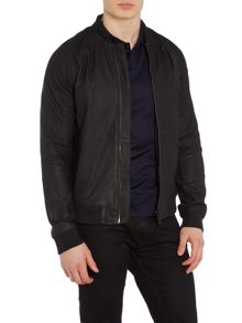 Calvin Klein Norent leather bomber