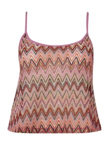 Lipsy Zig zag cover up top