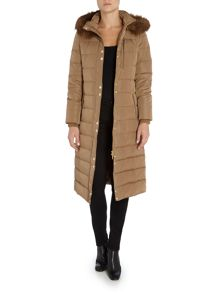 Linea Longline Down and Feather Padded Coat