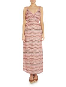 Lipsy Zig zag maxi dress cover up