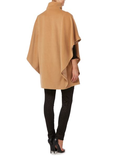 Biba Luxe button detail cape