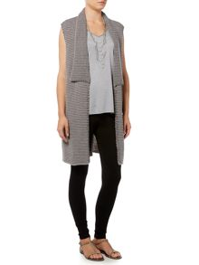 Gray & Willow Paula ponte legging with zip detail