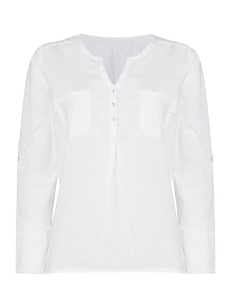 Dickins & Jones Debbie Dobbie Textured Shirt